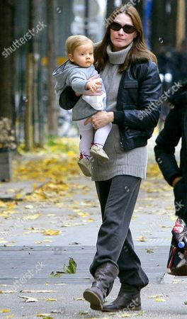 Editorial picture of Carla Bruni Sarkozy Out and About in Paris, France - 12 Nov 2012