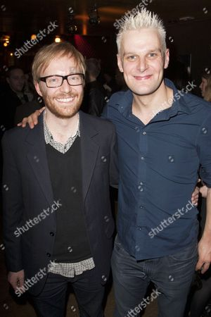 Joe Hill-Gibbins (Director) and Nick Lee (Antonio/Tomazo)