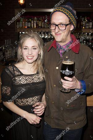 Sinead Matthews (Beatrice-Joanna) and Leo Bill