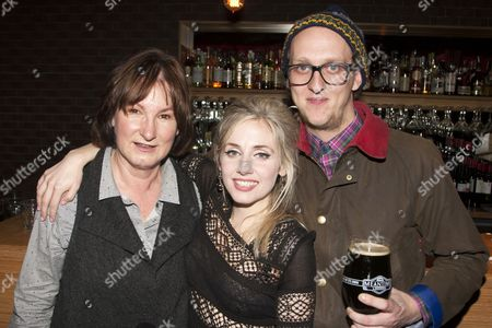 Deborah Findlay, Sinead Matthews (Beatrice-Joanna) and Leo Bill