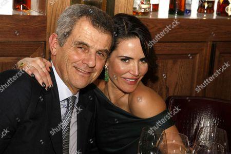 Ferruccio Ferragamo and Sophie Anderton
