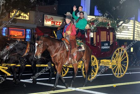 Editorial picture of Hollywood Christmas Parade benefiting Marine Toys for Tots, Los Angeles, America - 25 Nov 2012
