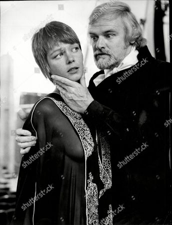 Keith Michell As Hamlet And Carol Deymour As Ophelia In A Modern Version Of Hamlet.