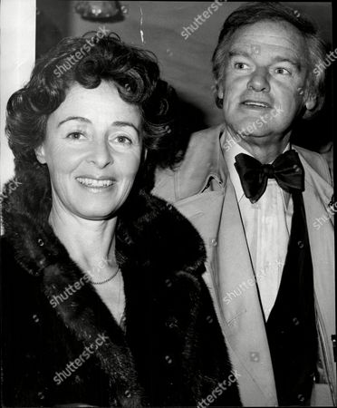 Actor Keith Michell And His Wife Actress Jeanette Sterke.