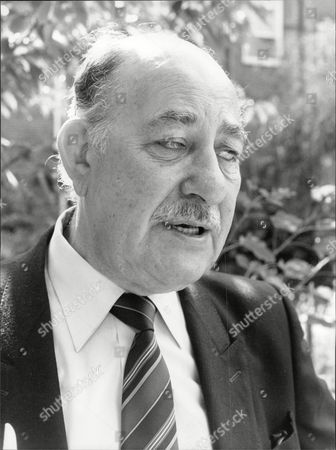 Stock Image of Alfred Marks Actor 1990.