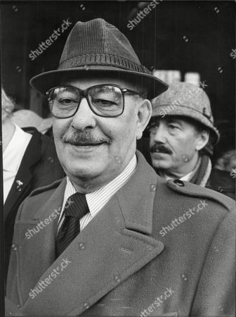 Alfred Marks Actor At Memorial For Comedian Arthur Askey 1983.