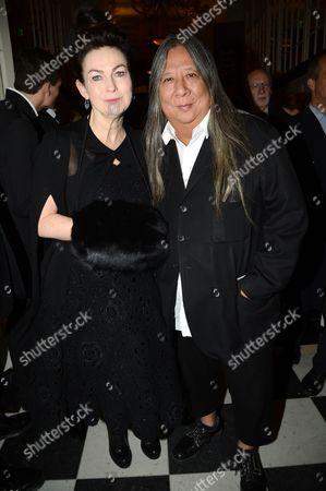 Editorial image of British Fashion Awards, The Savoy, London, Britain - 27 Nov 2012