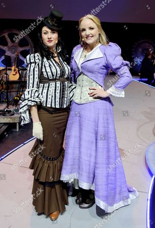 Stock Photo of Lily Osborne and Kerry Ellis