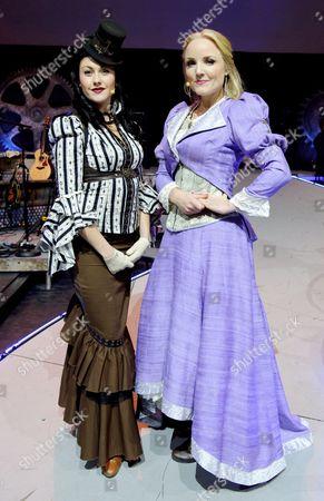 Stock Image of Lily Osborne and Kerry Ellis