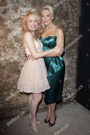 Holly Dale Spencer (Lois Lane/Bianca) and Hannah Waddingham (Villi Vanessi/Katherine Minola)