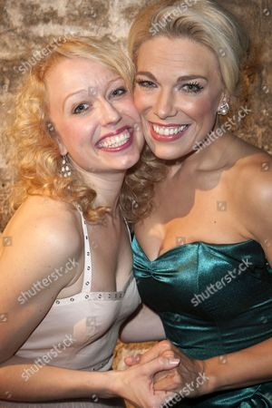 Stock Picture of Holly Dale Spencer (Lois Lane/Bianca) and Hannah Waddingham (Villi Vanessi/Katherine Minola)