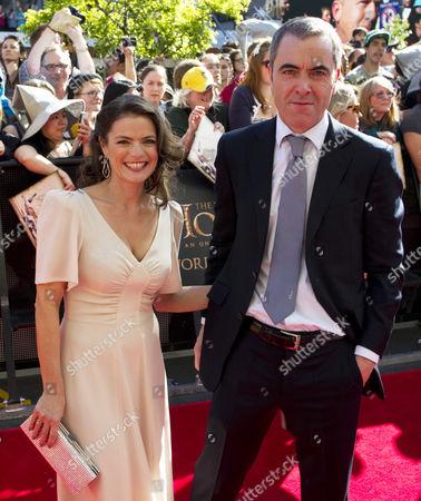 James Nesbitt and wife Sonia Nesbitt