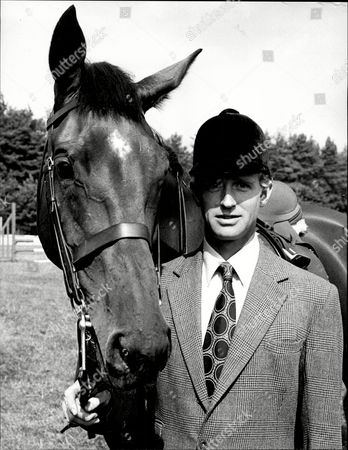 Richard Meade Show Jumper With His Horse.