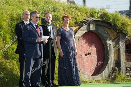 Editorial photo of 'The Hobbit - An Unexpected Journey' World Film Premiere, Wellington, New Zealand - 28 Nov 2012