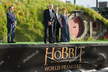 Editorial image of 'The Hobbit - An Unexpected Journey' World Film Premiere, Wellington, New Zealand - 28 Nov 2012