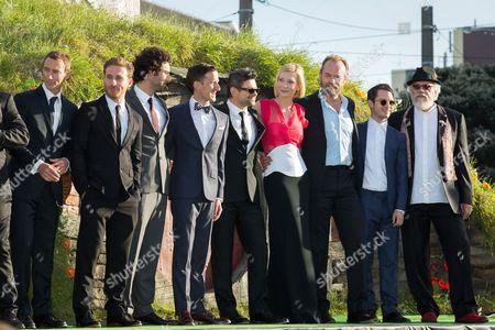 Jed Brophy, Dean O'Gorman, Aidan Turner, Andy Serkis, Cate Blanchett, Hugo Weaving, Elijah Wood, John Callen