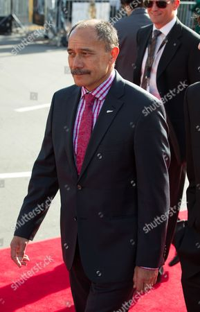 Stock Image of New Zealand Governor General Jerry Matapaere