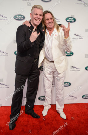 Stock Picture of wAYNE bIRCH and Nicko McBrain