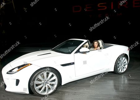 Shannyn Sossamon and the 2013 Jaguar F Type
