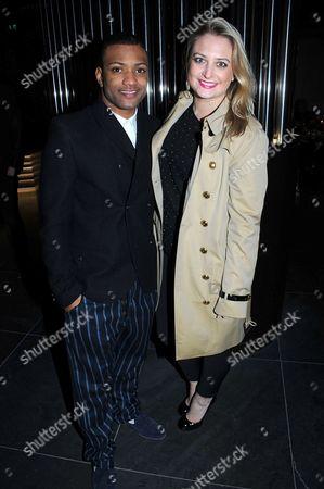 Jonathan Gill and girlfriend Chloe Tangney
