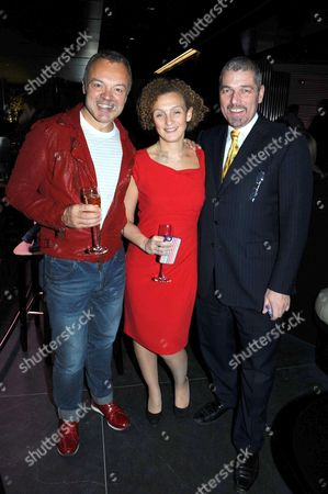 Graham Norton and Jonathan Segal