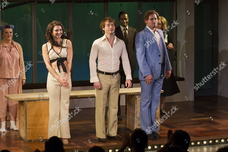 Editorial picture of 'Merrily We Roll Along' play, press night, London, Britain - 28 Nov 2012