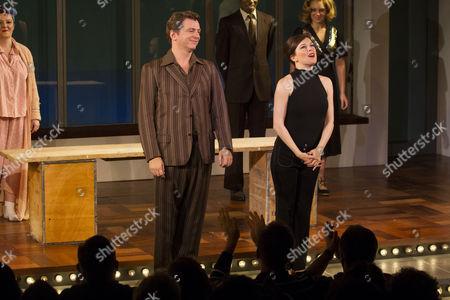 Glyn Kerslake (Joe Josephson) and Josefina Gabrielle (Gussie Carnegie)