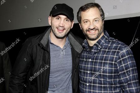 Ian Laperriere and Judd Apatow