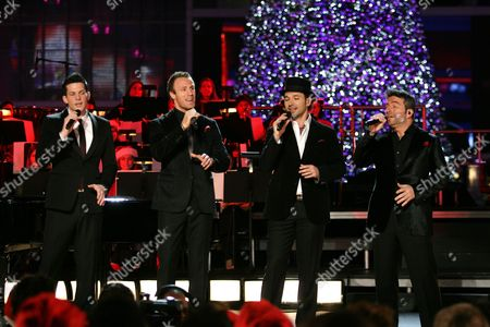 Editorial image of 2012 Holiday Tree Lighting at L.A. Live, Los Angeles, America - 28 Nov 2012