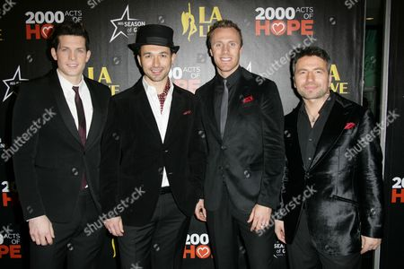 The Canadian Tenors - Victor Micallef, Clifton Murray, Fraser Walters and Remigio Pereira