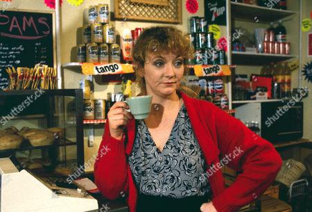 Stock Photo of Sue Roderick as Pam Davies