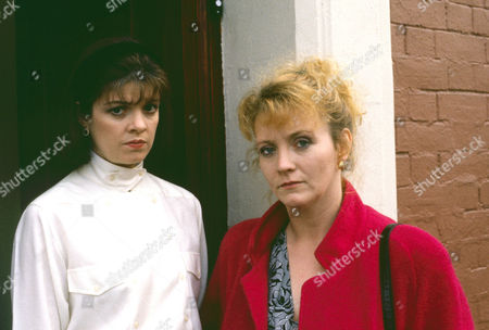 Julia Watson as Fiona Parry and Sue Roderick as Pam Davies