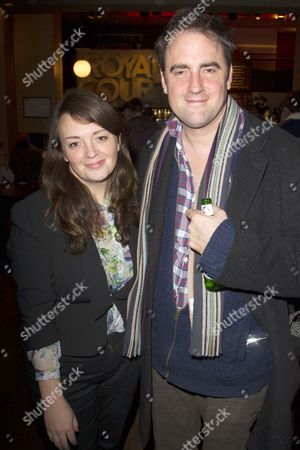 Editorial photo of 'Hero' play press night after party at the Royal Court Theatre, London, Britain - 29 Nov 2012