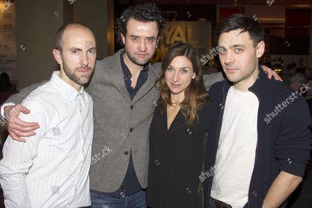 Tim Steed (Joe), Daniel Mays (Jamie), Susannah Wise (Lisa) and Liam Garrigan (Danny)