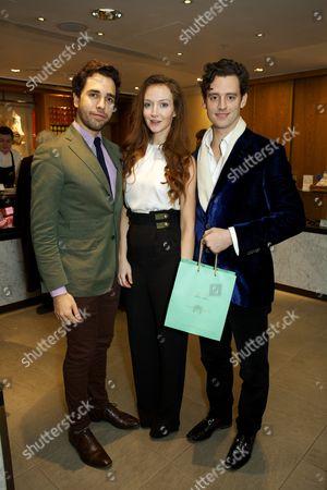 Stock Photo of Diego Bivero-Volpe, Olivia Grant and Simon Ambrose (entrepreneur)