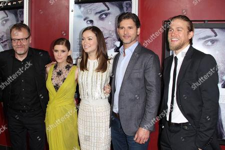 Stefan Ruzowitzky, Kate Mara, Olivia Wilde, Eric Bana and Charlie Hunnam