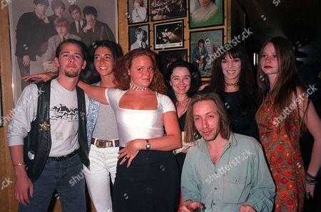 Jason Starkey, Maureen Starkey, Stella McCartney, Lee Starkey, Mary McCartney