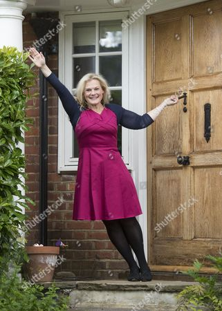 Editorial photo of Ella Kenion at home in north London, Britain - 19 Jul 2012