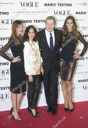 Carolina Adriana Herrera, Mario Testino, Izabel Goulart