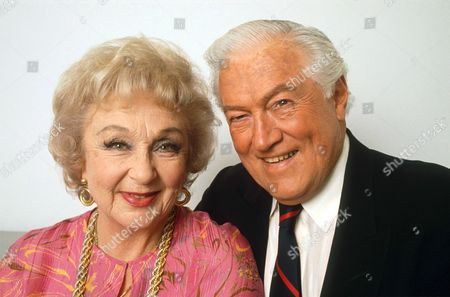 Stock Image of GOOGIE WITHERS AND HUSBAND JOHN MCCALLUM