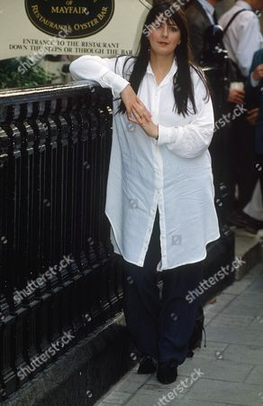 Editorial picture of MAIRE BRENNAN OF CLANNAD PROMOTING HER NEW ALBUM, MAYFAIR, LONDON, BRITAIN - MAY 1992