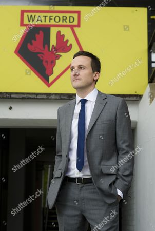 Editorial image of Launch of Football Manager 2013 game at Vicarage Road, Watford, Britain - 24 Oct 2012