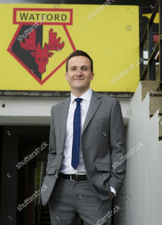 Editorial picture of Launch of Football Manager 2013 game at Vicarage Road, Watford, Britain - 24 Oct 2012