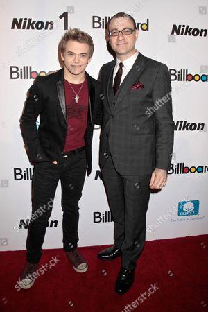 Hunter Hayes and Bill Werde, Billboard Editorial Director