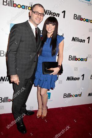 Bill Werde, Billboard Editorial Director and Carly Rae Jepsen