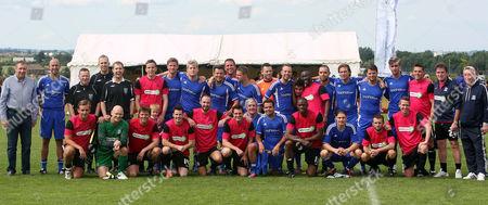 Editorial photo of Southend Legends v Essex FC football match, Britain - Nov 2012