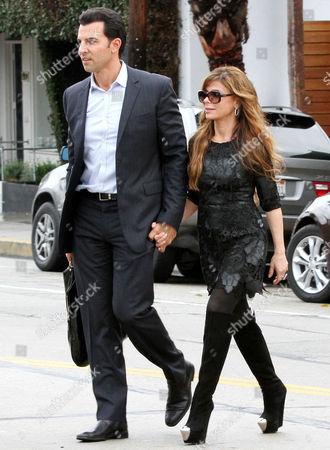 Paula Abdul and boyfriend John Caprio