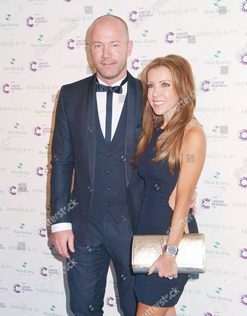 Stock Picture of Alan Shearer and wife, Clodagh Kean
