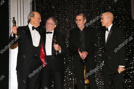 George Stevens Jr., D.A. Pennebaker, Hal Needham and Jeffrey K