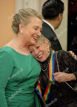 Hillary Clinton and Natalia Makarova